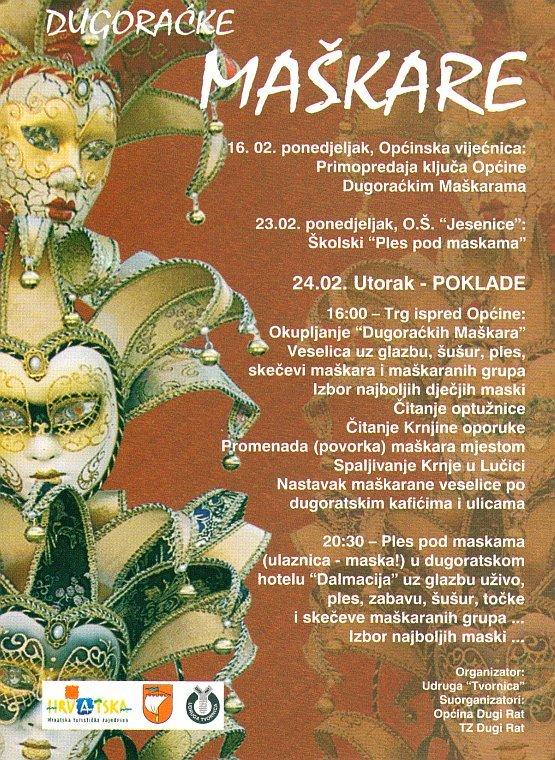 Dugoraćke Maškare 2009.
