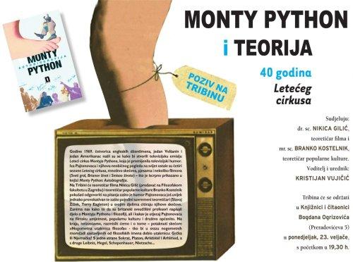"U Zagrebu sepriređuje Tribina ""Monty Python i Teorija - 40 godina Letećeg cirkusa"""