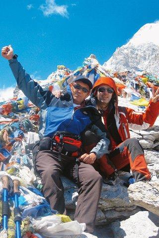 Pauletić i Stipe božić na Himalaji