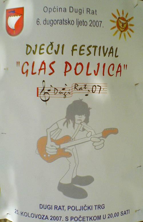 Dječji festival u Dugom Ratu