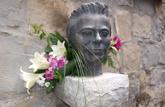 statua Josipa Pupačića u Slimenu