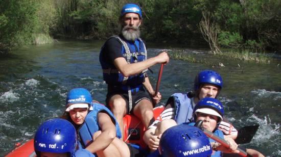 rafting na Cetini