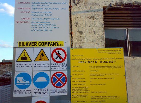 Počelo rušenje tvornice Dalmacija u Dugom Ratu