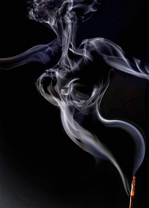 u dimu cigarete