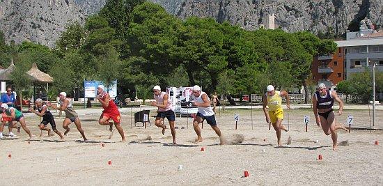 natjecanje spasitelja na omiškoj plaži