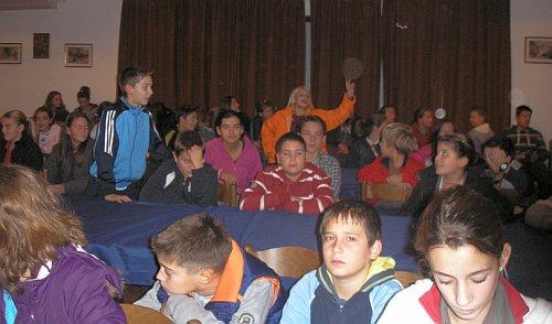 terenska nastava učenika OŠ Jesenice dugi Rat u zvjezdarnici na Mosoru