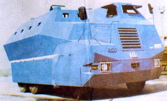 Prvi hrvatski oklopni transporter - TIN