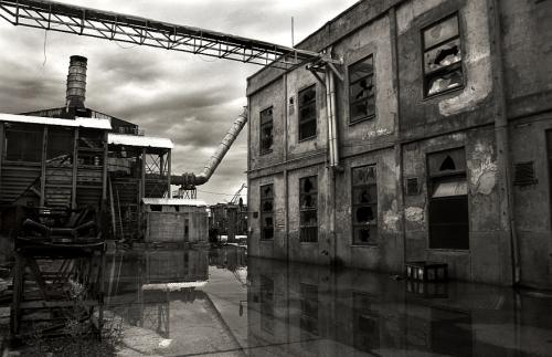 rušenje tvornice