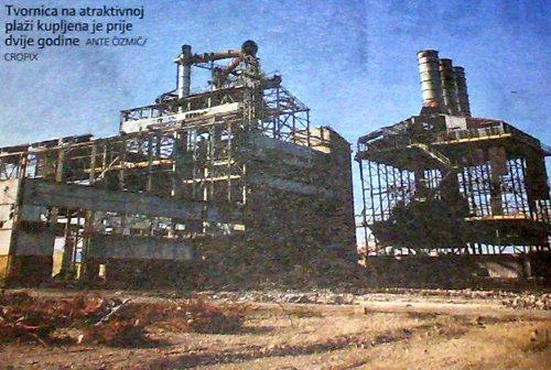 tvornica rušenje