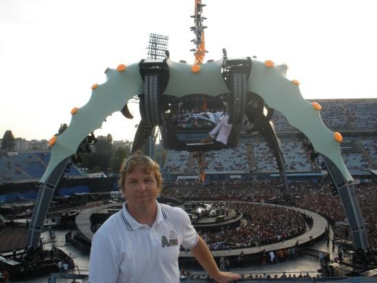 Detalji s koncert U2 u Zagrebu