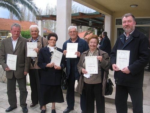 dobitnici priznanja omiških umirovljenika