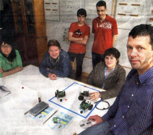 Vicko Marušić s učenicima