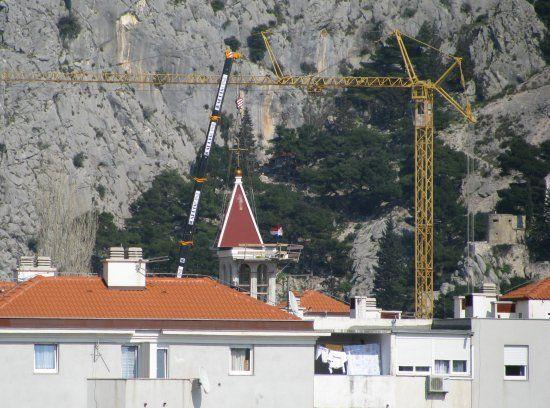 Zvonik crkve sv. Petra na Priku