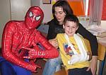 Spiderman na pedijatrijskom odjelu KBC Split